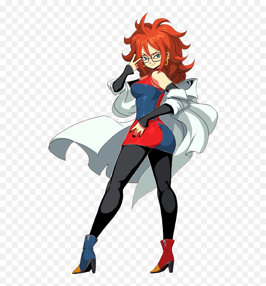 Android 21 hot