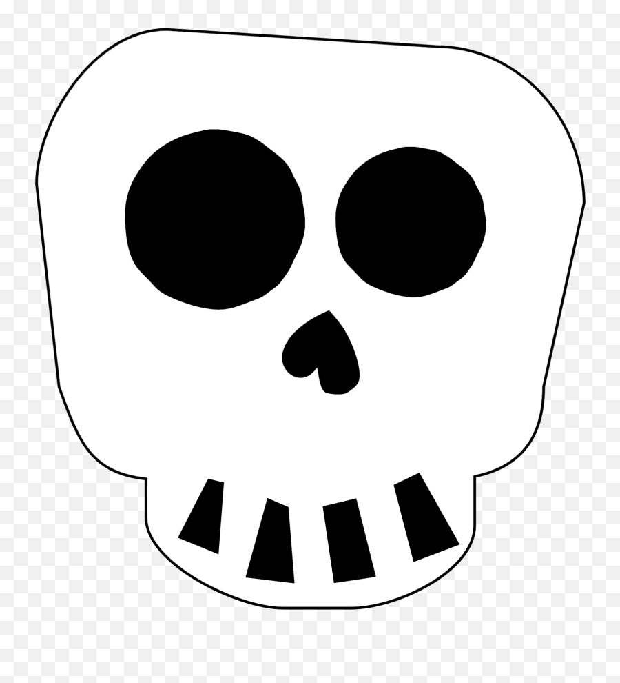 Free Printable Halloween Skull Decoration Banner Paper - Skeleton Halloween Decorations Printable Png,Halloween Banner Png