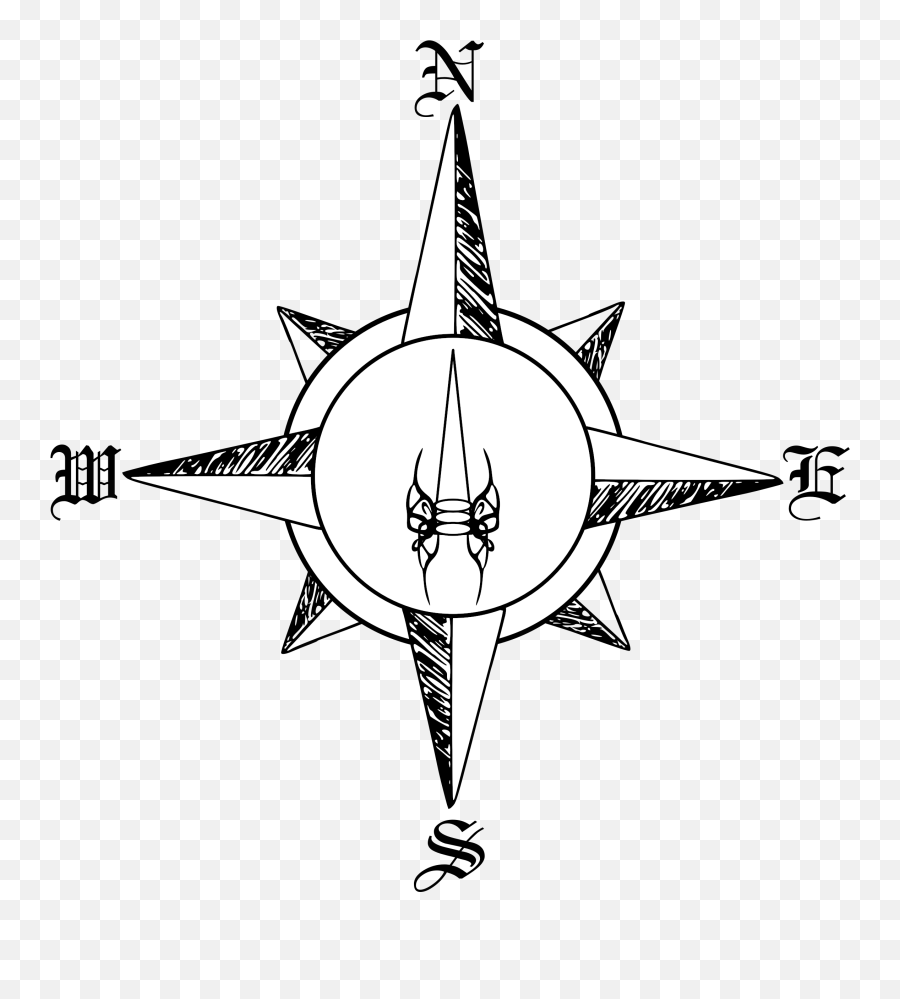 Compass Clipart Compas Compass Rose Draw Png Transparent Fantasy Map Compass Rose Free Transparent Png Images Pngaaa Com