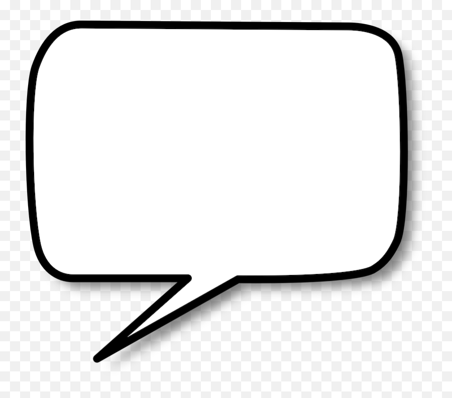Speech Bubble Balloon - Free vector graphic on Pixabay  Thank You For Watching Speech Bubble png