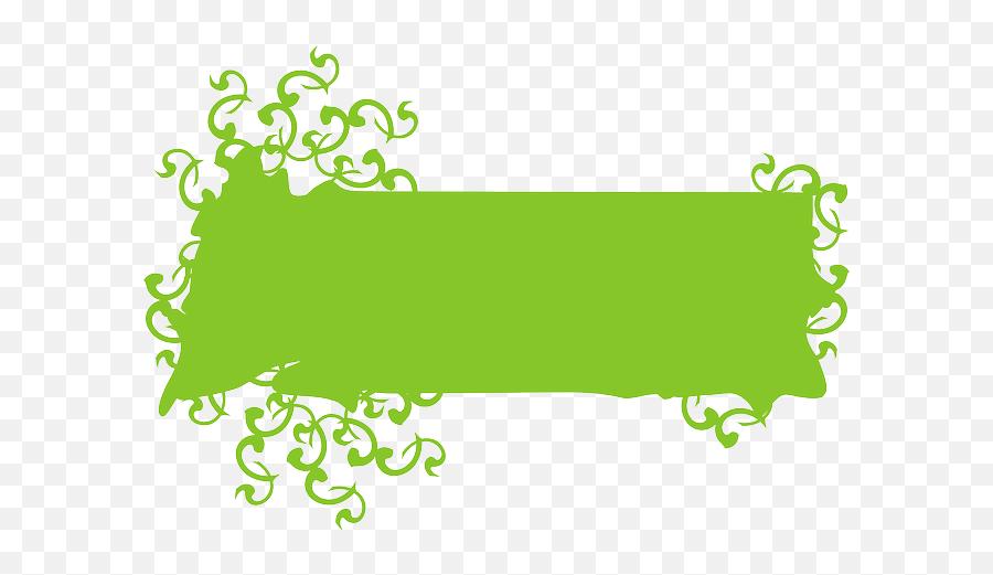 Png V48 Image I 3964475538 Green Ivy - Banner Blank Design Png,Blank Banner Png