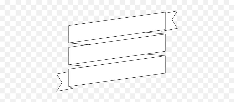 Ribbon Banner Png - Horizontal,Black Ribbon Banner Png