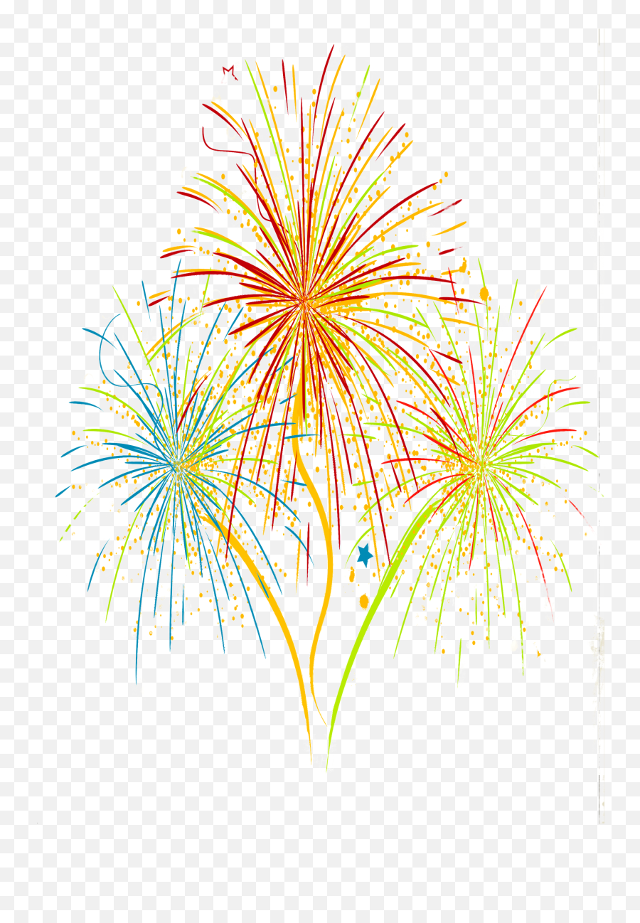 Fireworks Png Clipart Background Free - Festival Png
