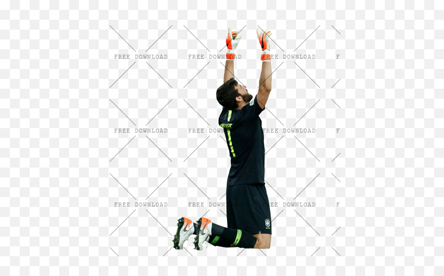 Alisson Becker Ai Png Image With Transparent Background - Acrobatics