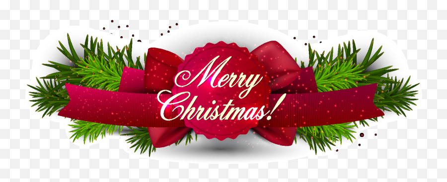 Pretty Christmas Banners Png - Merry Christmas Banner Png,Christmas Banner Png