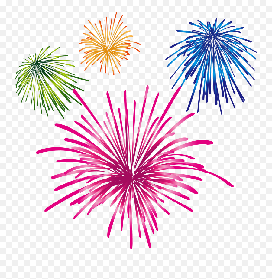 Fireworks Png Clipart Background Free Download - Free  Transparent Background Fireworks Cartoon