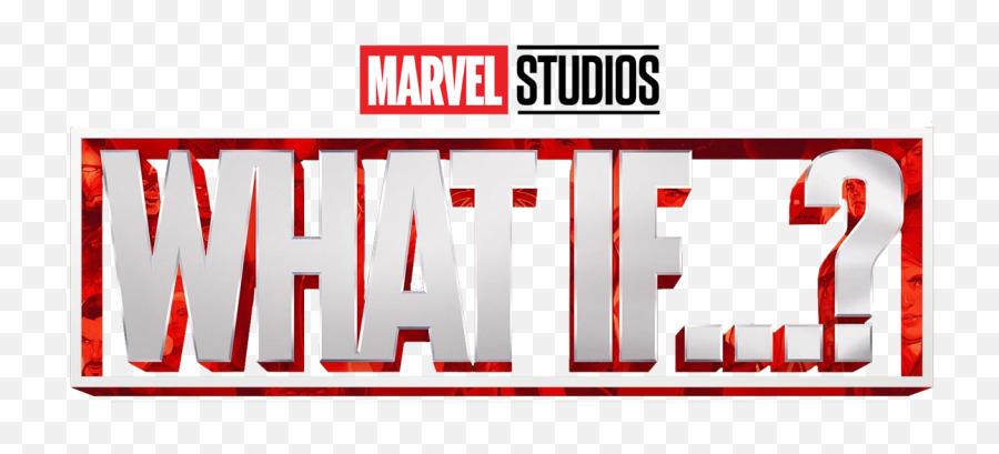 Whatif Marvel Mcu Title Logo Png - If Marvel Logo Png,Marvel Studios Png