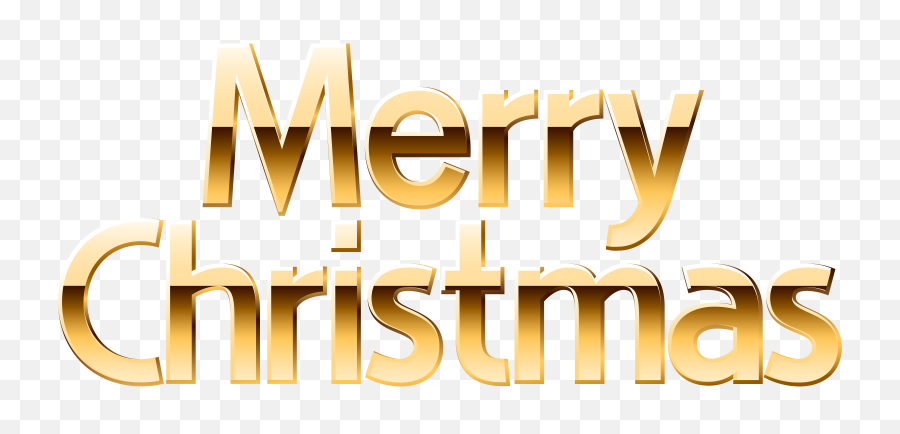 Gold Merry Christmas Banner Png - Merry Christmas Gold Png