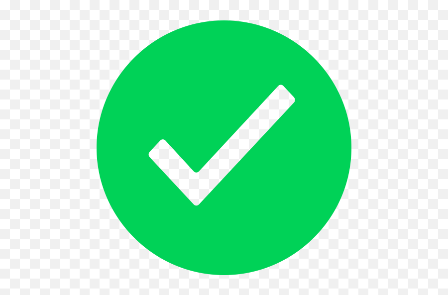 Green Tick Icon - Green Verified Png Icon - free transparent png images -  pngaaa.com