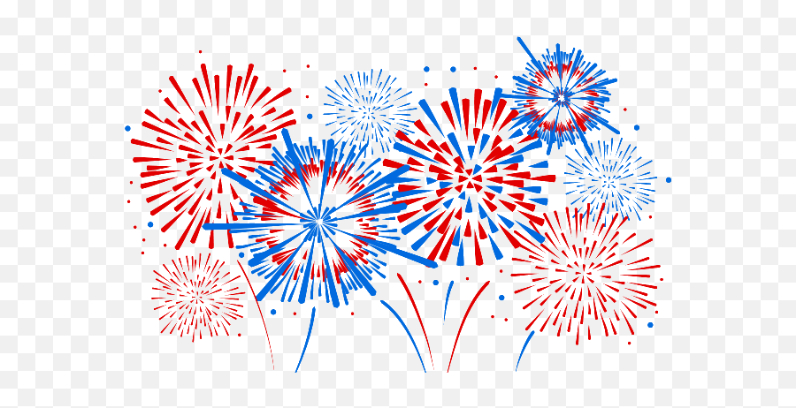 Fireworks Png Clipart Background Free - Fourth Of July Fireworks Png