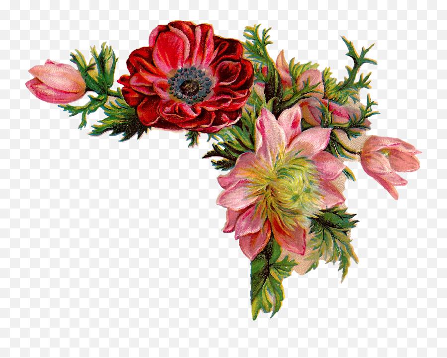 Free Digital Flower - Bible Verse Wallpaper Desktop Png,Vintage Flower Png
