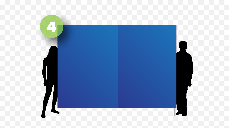 Doing So Typically Requires Multiple People Depending - Silhouette Png,Blank Banner Png