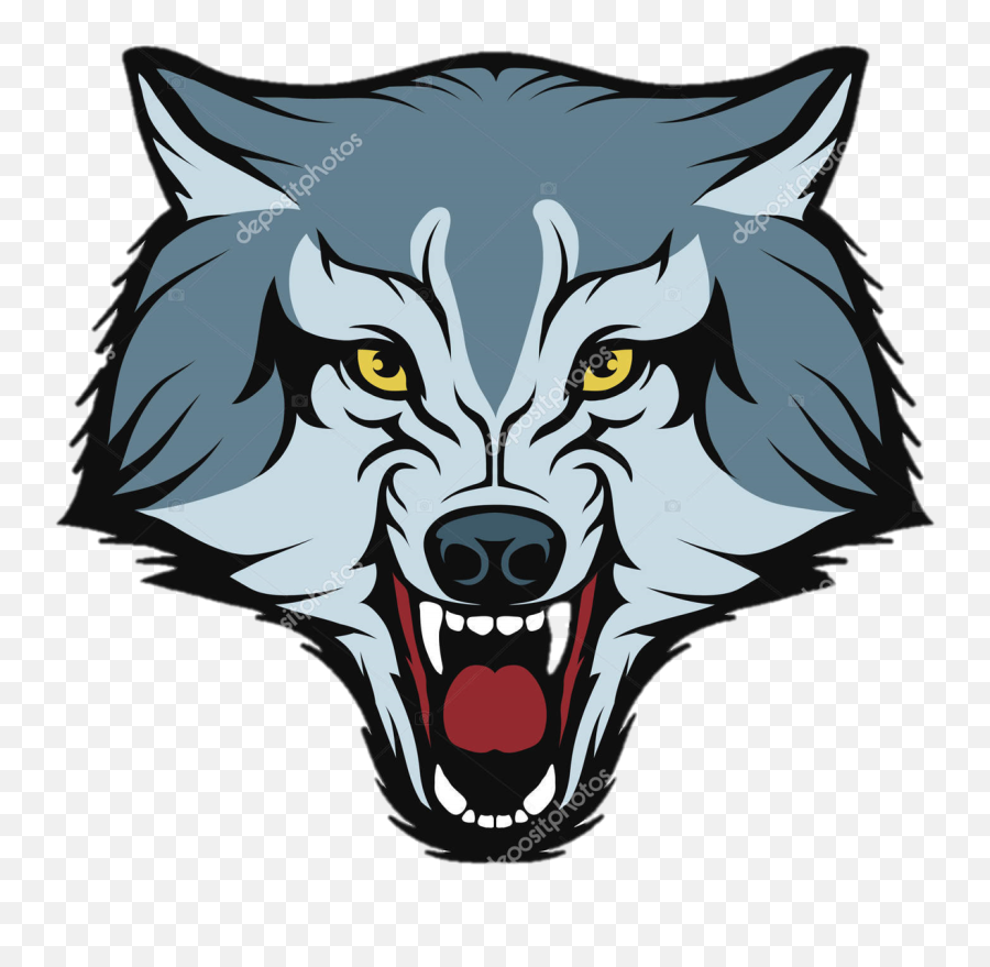 Download Gray Wolf Logo Free Png Hq Clipart - Wolf Logo