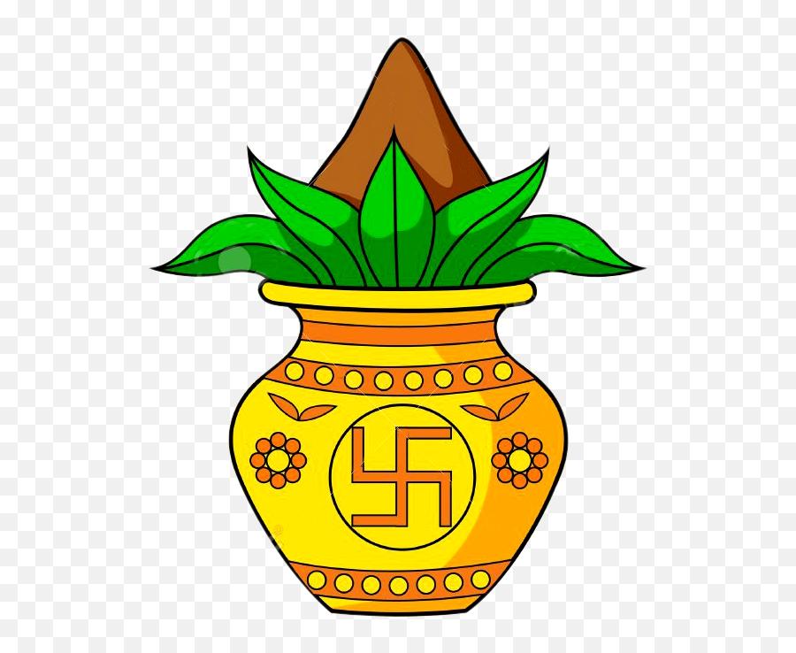 Clipart Logo Kalash Png - Drawing Of Akshay Tritiya,Swastik Logo