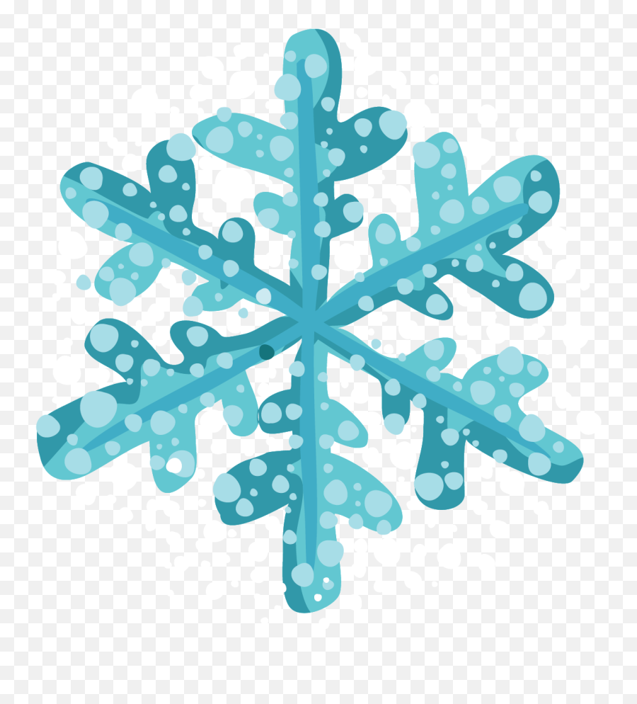 Falling Snow Backg - Transparent Background Winter Snowflake Clipart png